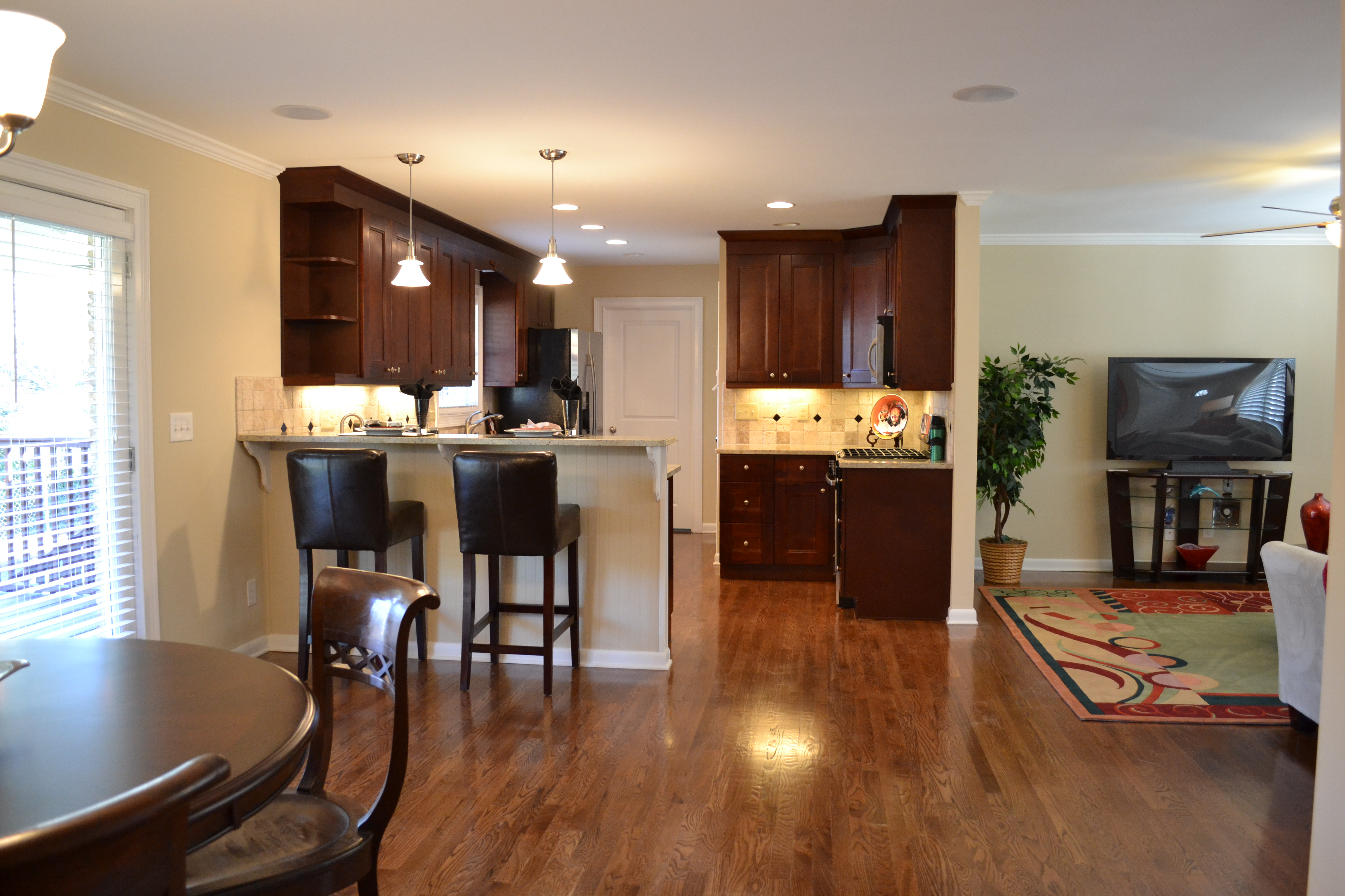 View Of Kitchen From Dining Room Vision Pointe Homes